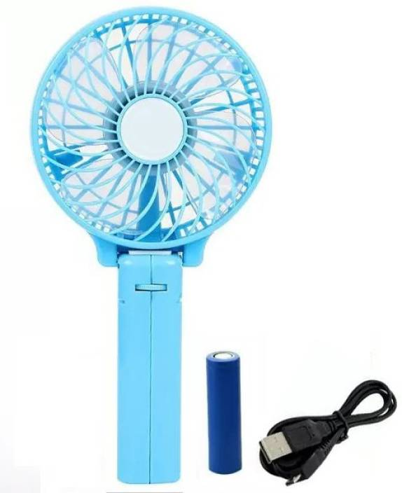 Small Air Conditioning Appliances Fans Portable Hand Fan Battery Operated Usb Power Handheld Mini Fan Cooler With Strap Air Cooler New 100% Original