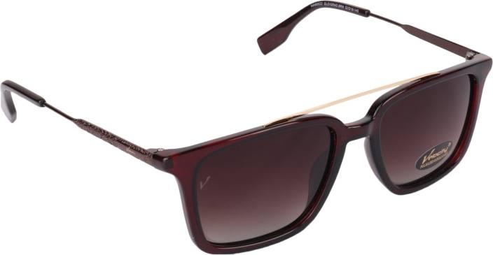 61545088906f Buy Velocity Wayfarer Sunglasses Brown For Men   Women Online ...