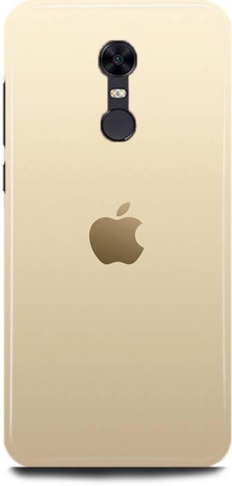 the best attitude 5860e f25fe ADZIRE Back Cover for MI REDMI 5/ Redmi 5 apple logo Printed ...