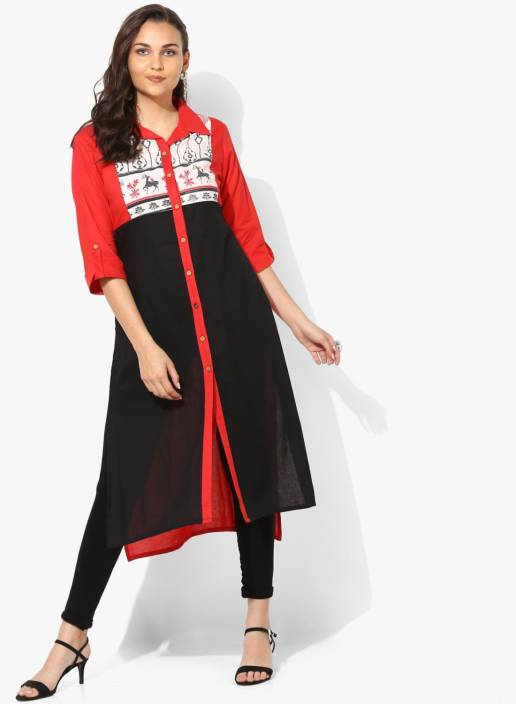 0a7a4691da Sangria Women Self Design A-line Kurta - Buy Sangria Women Self ...