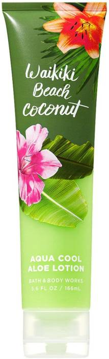 Bath Body Works Waikiki Beach Coconut Aloe Gel Lotion
