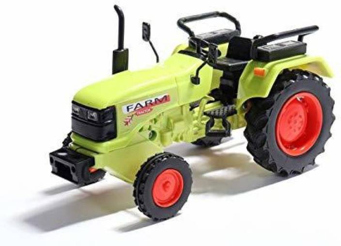 b624a02df1d Golden Feather Pull Back Farm Tractor Miniature Pull Back action ...
