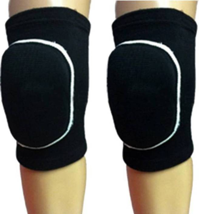 3dc706b39730 Konex Dancing Double Padded Knee Pad Knee Support Knee Cap - Free Size  (Pack of 2) Ankle Support (Beige)