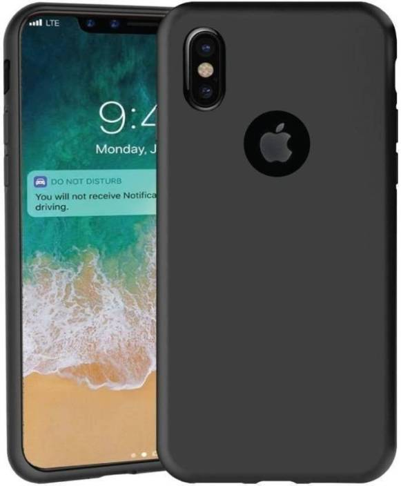 KmP PoWeR Back Cover for Apple iPhone XR (Black)