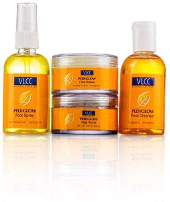 VLCC NEW NATURAL SCIENCE PEDIGLOW FOOT CARE KIT