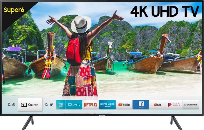 Samsung NU6100 125cm (50 inch) Ultra HD (4K) LED Smart TV