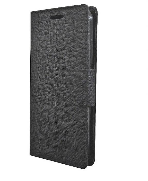 9c21700c361 COVERNEW Flip Cover for Samsung Galaxy J1 -4G (SM-J120GZKDINS) (Mercury  Wallet Black, Dual Protection)