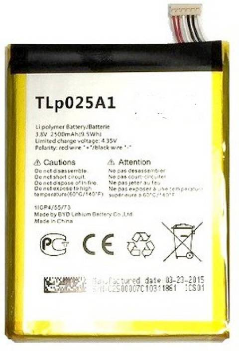Full cell Mobile Battery For Alcatel One Touch Pop 2 Price