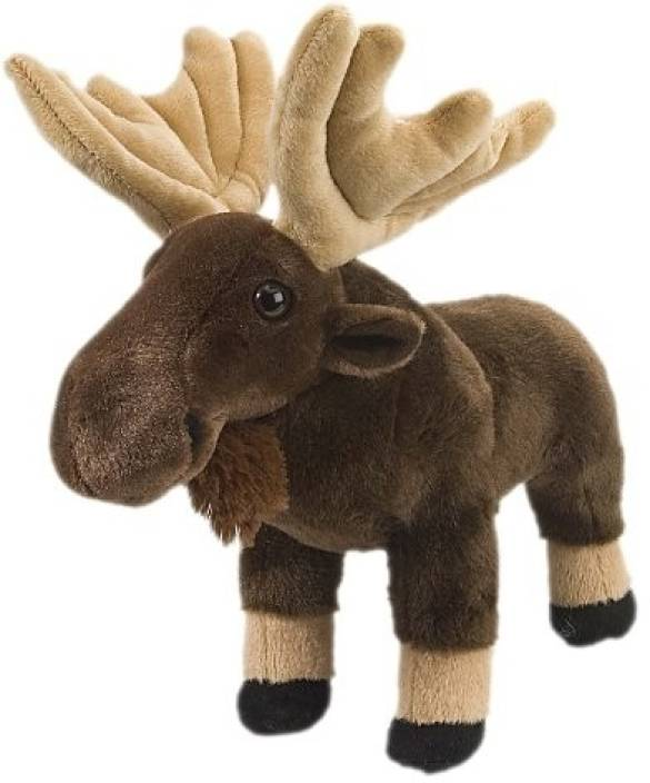Moose Plush, Stuffed Animal, Plush Toy