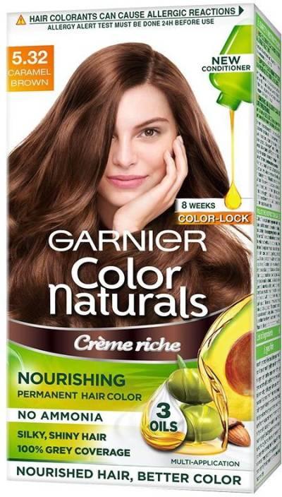Garnier Color Naturals Creme, Shade 5.32 Hair Color
