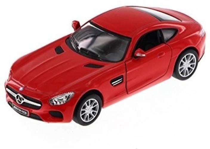 Kinsmart AMG GT Red 5388D 136 Scale Diecast Model Toy Car