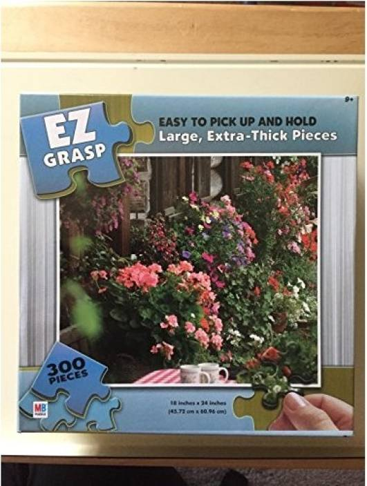 Milton Bradley EZ Grasp Puzzle - Wall of Flowers