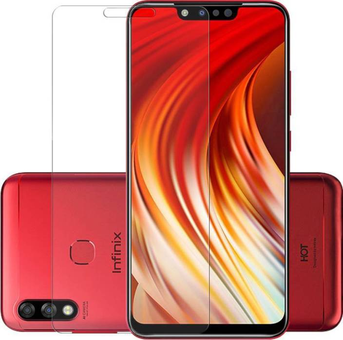 Knotyy Tempered Glass Guard for Infinix Hot 7 Pro - Knotyy