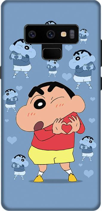 MyBestow Back Cover for Samsung Galaxy Note 9 ( Shin-Chan