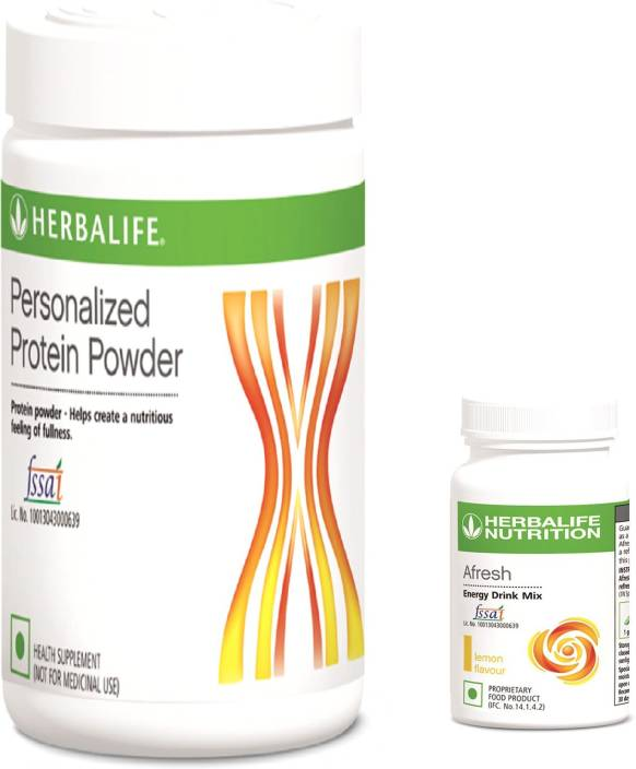 Herbalife Set OF Formula Personalized Protein 400 Gm With Afresh