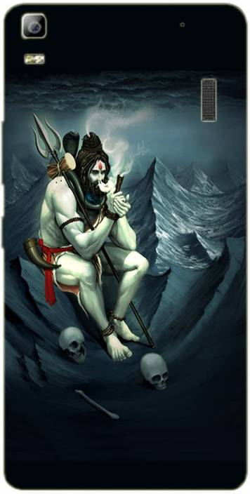 METOO Back Cover for Lenovo A7000, Lord Shiva Design Printed
