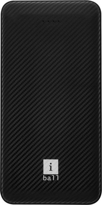 iBall 10000 mAh Power Bank (IB-10000LP)  (Black, Lithium Polymer)