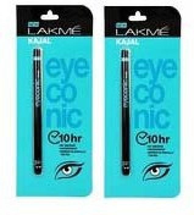 dd0580ecb10 Lakme Eyeconic Kajal - Price in India, Buy Lakme Eyeconic Kajal ...