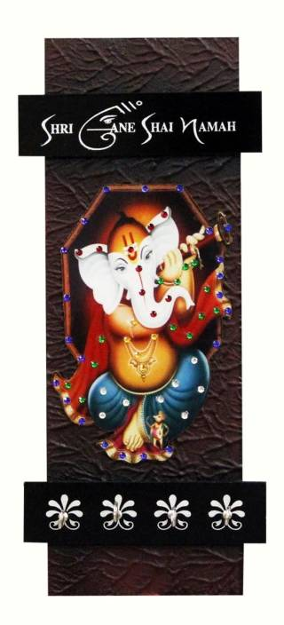 Craft Junction Ganesha Design Wooden Key Holder