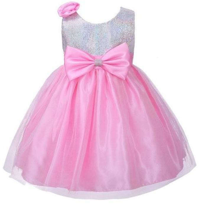adc863908 Fairy Dolls Girls Midi Knee Length Party Dress Price in India - Buy ...
