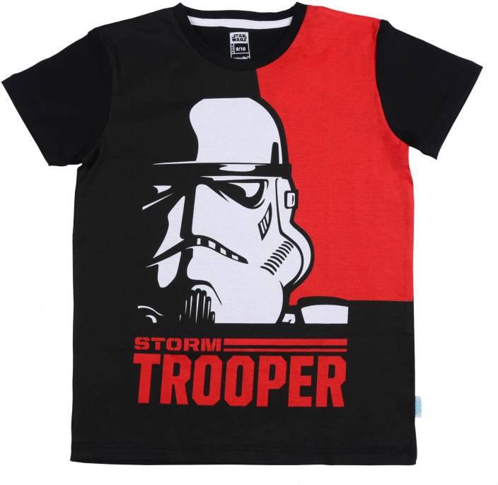 Star Wars Boys Printed Cotton T Shirt