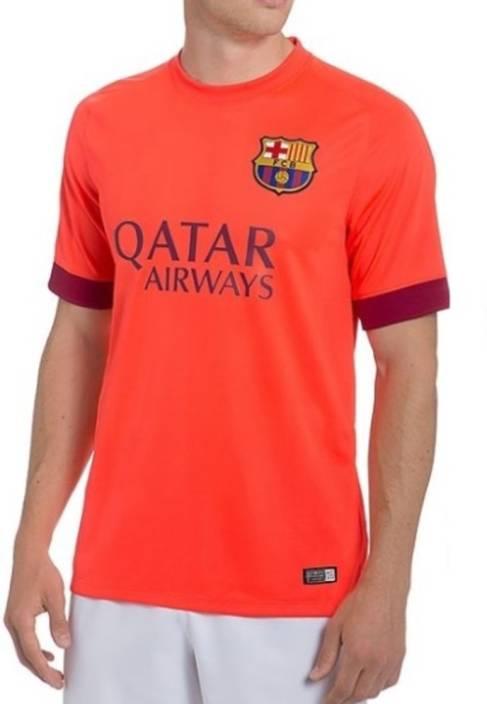 low priced c9e2a f2696 Navex Football Jersey Club Barcelona Orange Short Sleeve Ket XL Football Kit