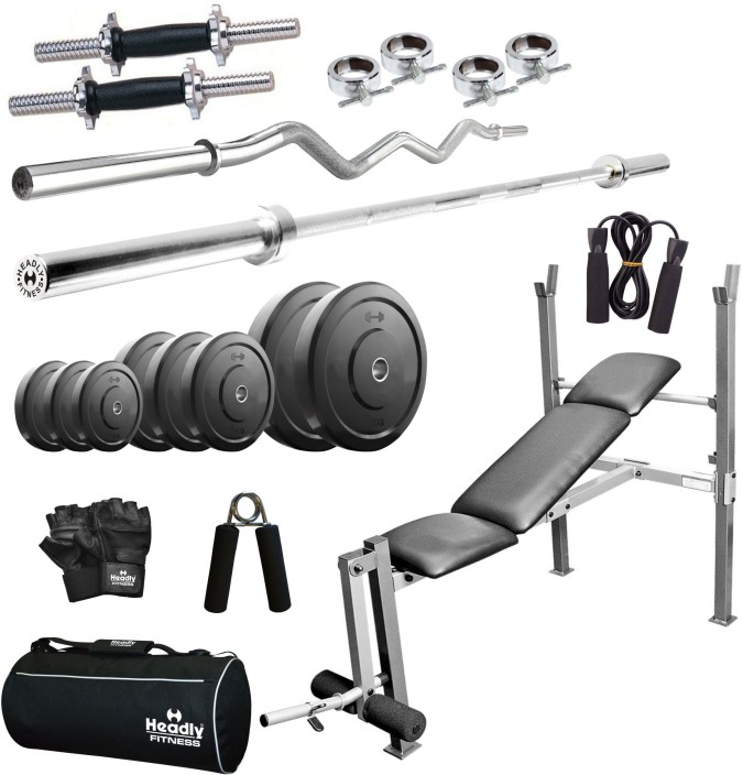 Headly home kg combo aa home gym kit buy headly home kg