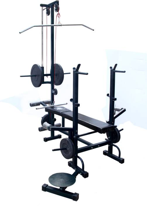 Kakss 30 kg home gym combo with twenty in one bench gym & fitness