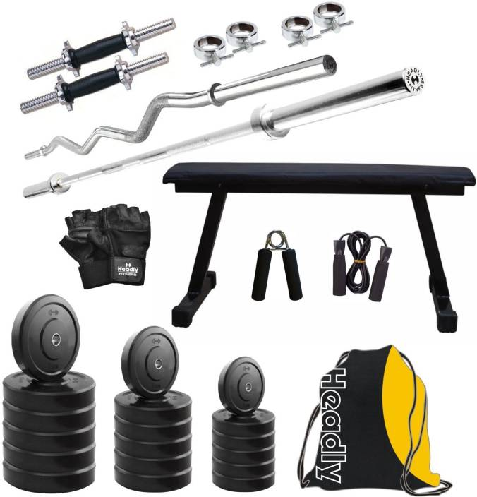 Headly HY - 100 kg Combo 7 Home Gym Kit