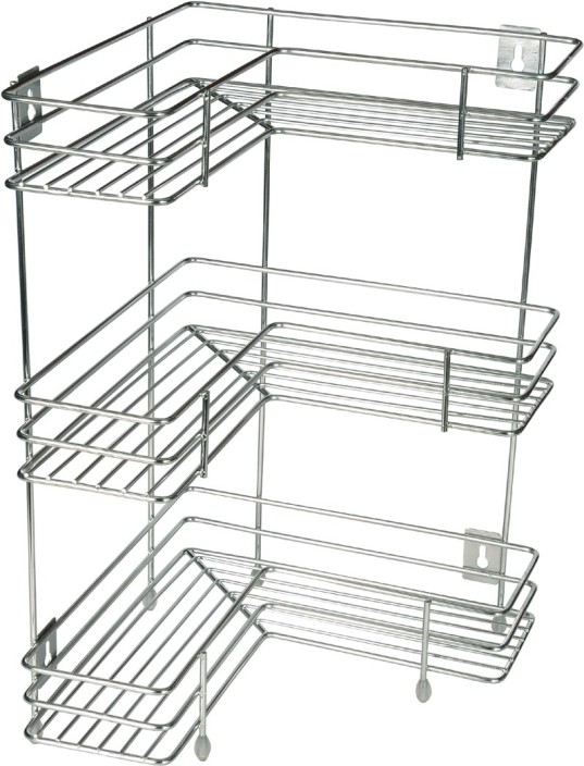 KCL L Shape Stainless Steel Kitchen Rack Price in India Buy KCL