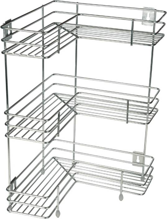 Kcl L Shape Stainless Steel Kitchen Rack