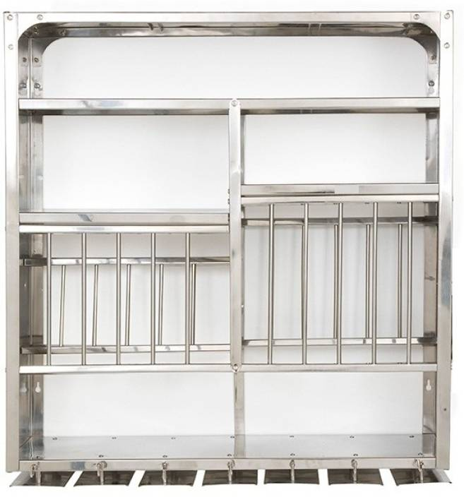 Bharat 30 x 30 Stainless Steel Kitchen Rack (Steel)