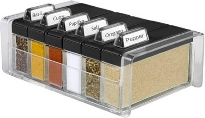 Emsa spice box spice organiser plastic kitchen rack price for Kitchen set on flipkart