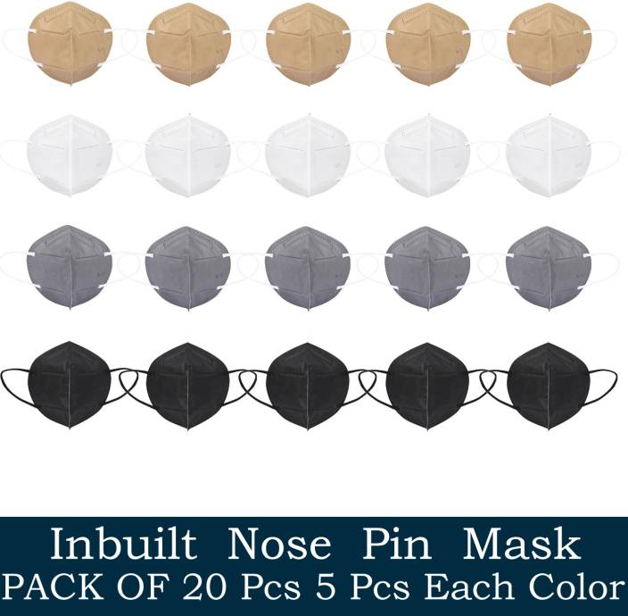 Tresbon TM-COMBO-1-BWGB N95 / KN95 FFP2 5 Layer Mask