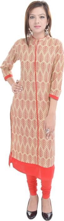 Gulmohar Jaipur Printed Women's Straight Kurta