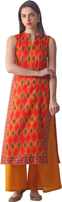 Libas Printed Women's Straight Kurta