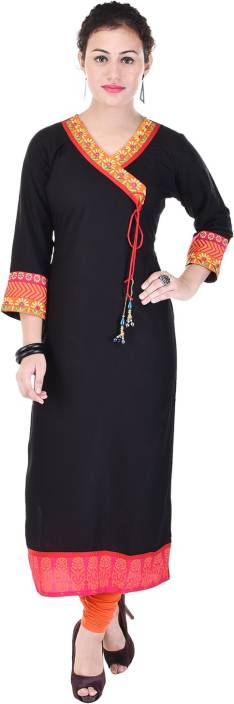 Rangmor Festive Self Design Women's Kurti