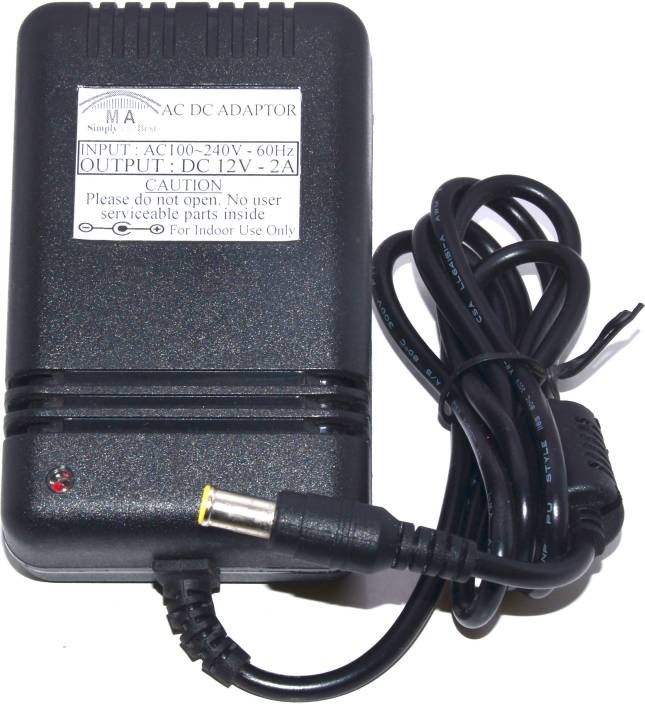 MA DC 12v 2APower adaptor for LG LCD Monitor and other 24 W Adapter