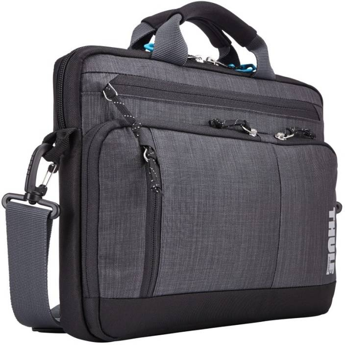 thule 13 inch laptop messenger bag gray price in india. Black Bedroom Furniture Sets. Home Design Ideas