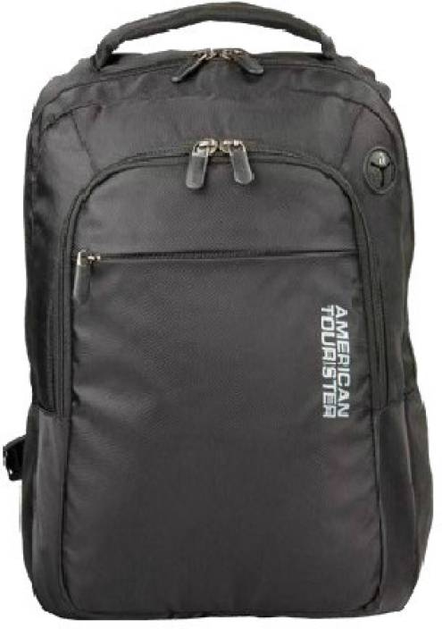 American Tourister 15 inch Laptop Backpack Black - Price in India ... 18f2a37a87