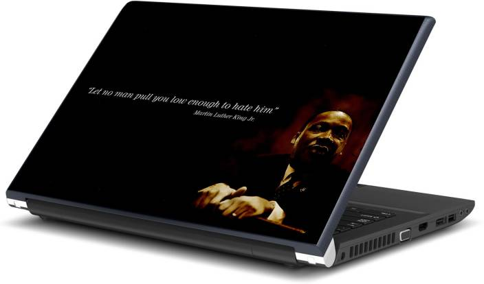 Artifa Martin Luther King Quote Vinyl Laptop Decal 15.6