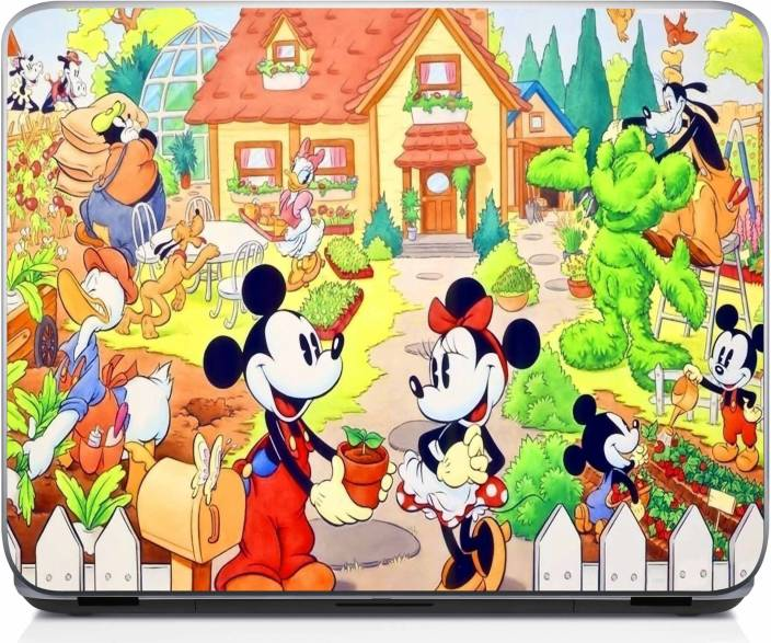 Shopnow Mickey Mouse Wallpaper 2 Vinyl Laptop Decal 15 6 Price In