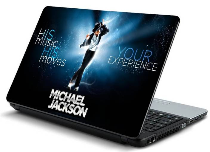 Psycho Art Michael Jackson Dance Suit Slogan Light Vinyl Laptop Decal 15.6