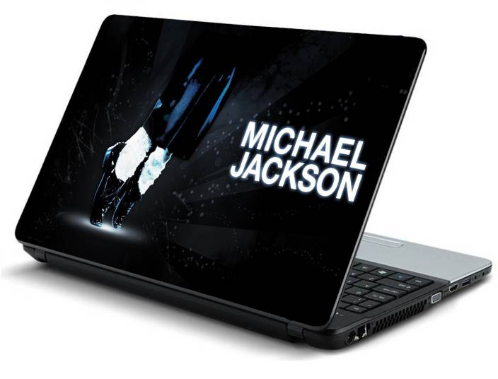 Psycho Art Michael Jackson Shoes Socks Pants Light Vinyl Laptop Decal 15.6