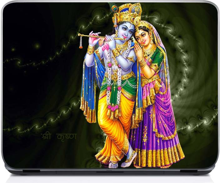 Holicshop Hindu God Krishna Radha Desktop 1080p Full Hd S Vinyl