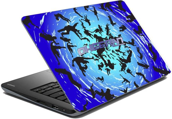 meSleep Abstract Swiral for Dheeran Vinyl Laptop Decal 15.6