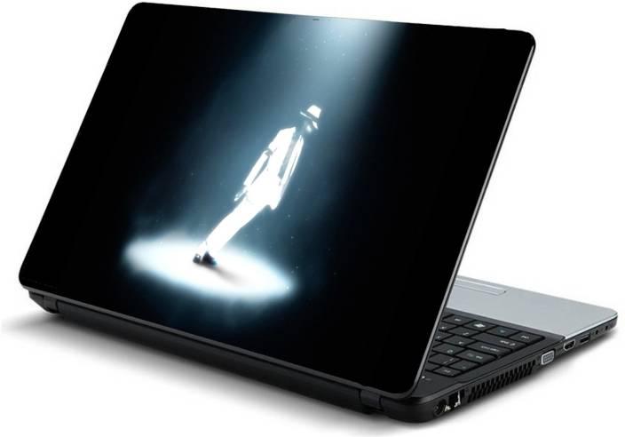 Psycho Art Michael Jackson Spot Light Vinyl Laptop Decal 15.6