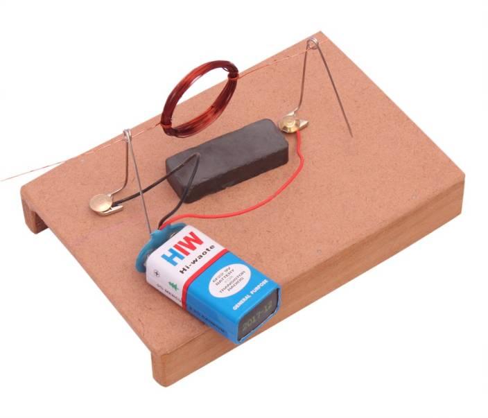 Projectsforschool simple dc motor working model diy kit for Simple toy motor project