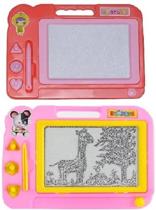 New Pinch combo of Kids Drawing Writing Board Magic Slate,