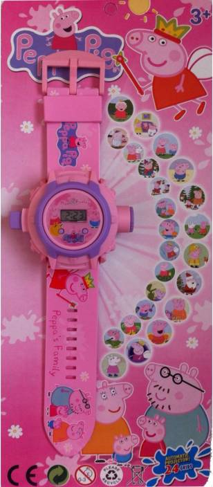 Toysbuggy Peppa Pig 24 Images Projector Watch Price In India Buy